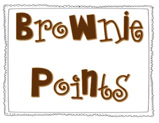 Brownie Points Clip Art.