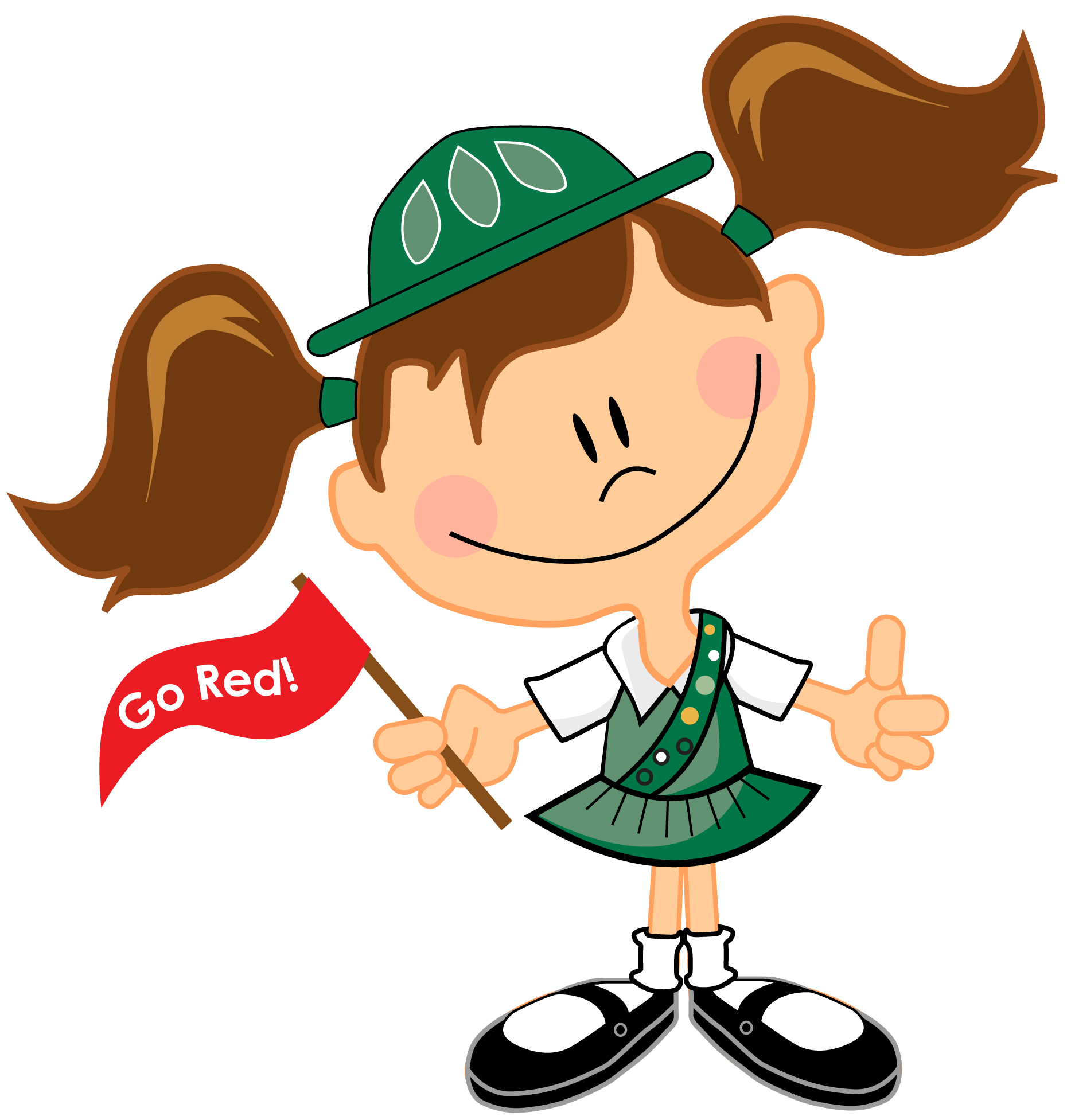Girl Scout Daisy Clipart.