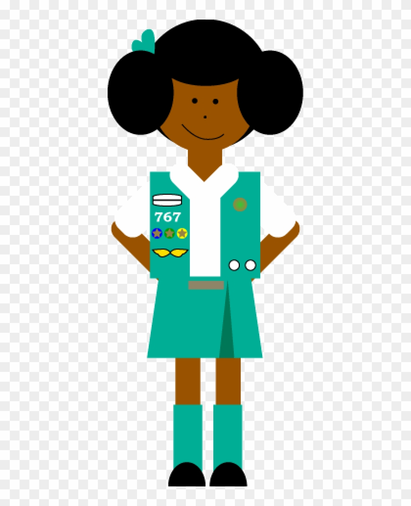 Girl Scout Clip Art.