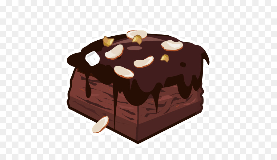 Brownies clipart chcolate.