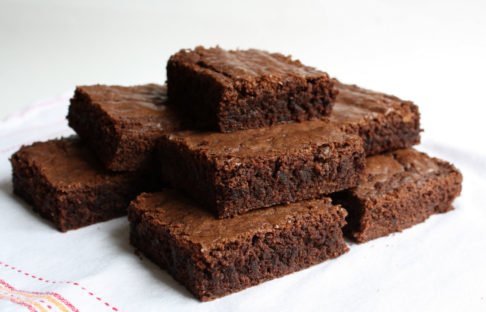 Chocolate brownies clipart.