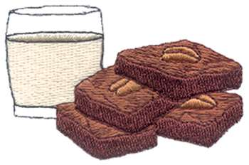 Brownies Clipart.