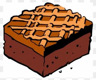 Free PNG Brownie Clip Art Download.