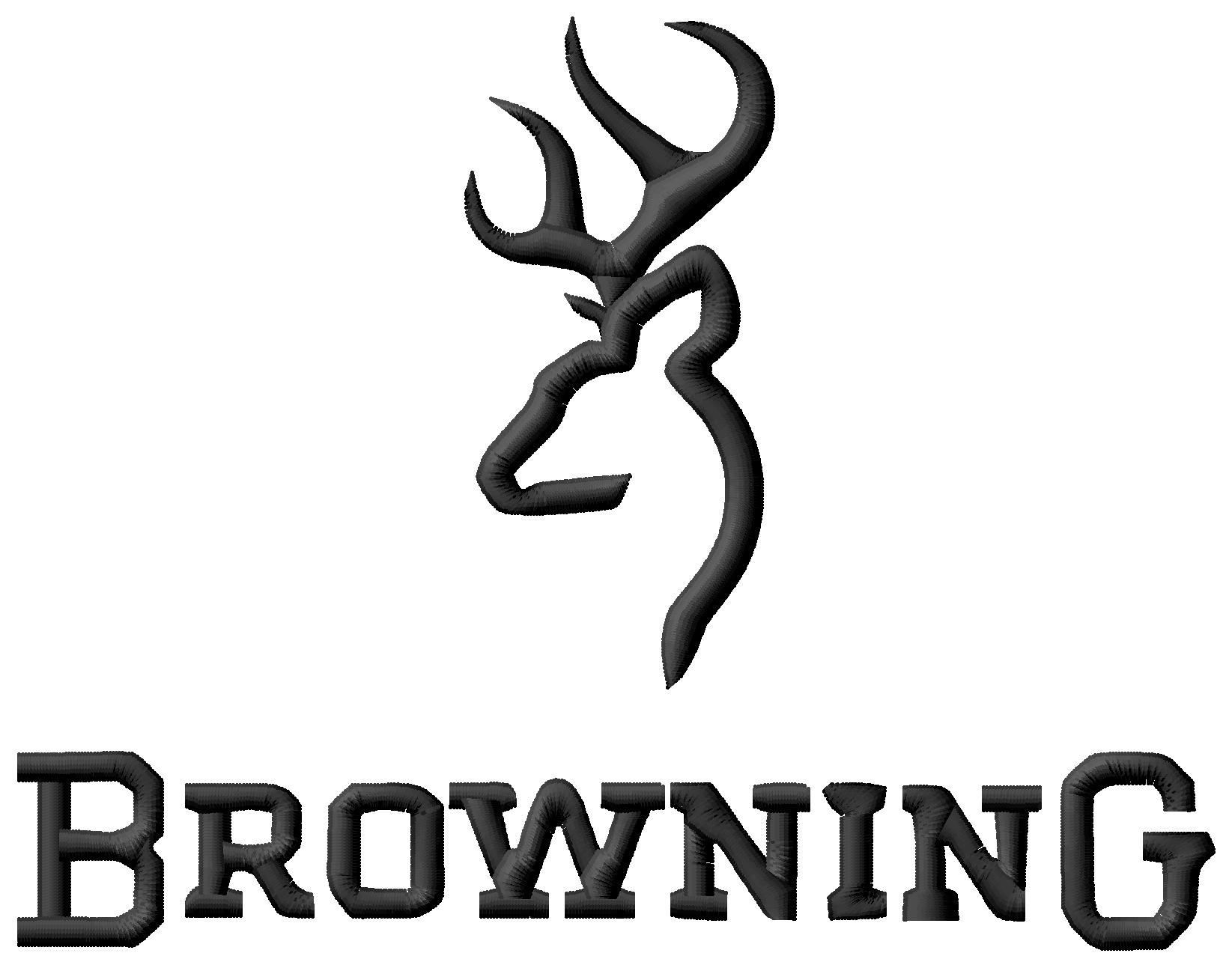 Browning logo clipart.