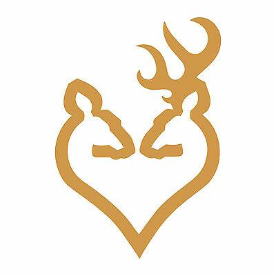 Browning Arms Deer Heart Logo 6\
