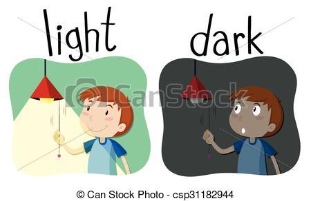 Dark Clip Art.