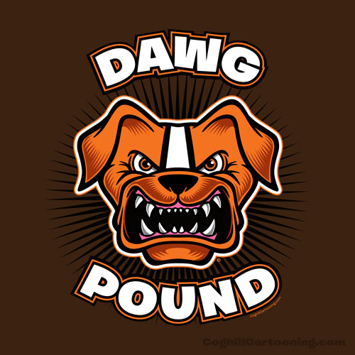 Cleveland browns football clipart.