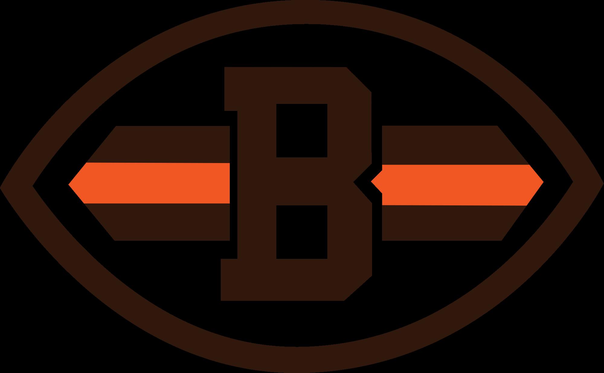 Cleveland Browns Logo transparent PNG.