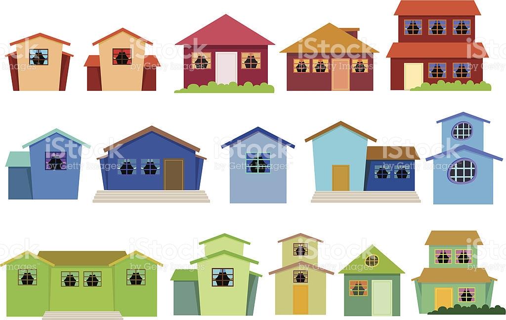 Brownstone Clip Art, Vector Images & Illustrations.