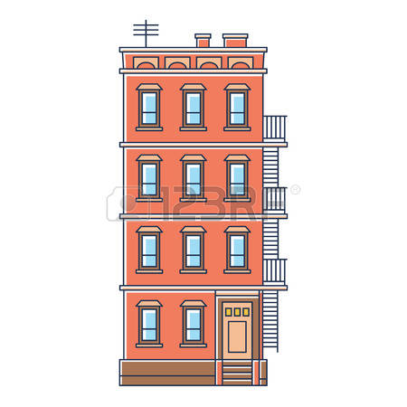 72 Brownstone Cliparts, Stock Vector And Royalty Free Brownstone.