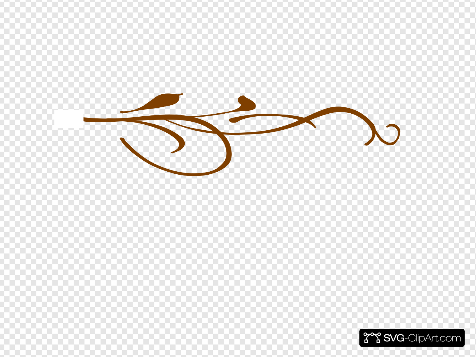 Swirl Brown Top Clip art, Icon and SVG.