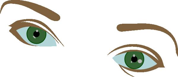 Bushy Eyebrows Clipart.