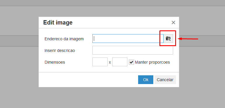 How to remove browse button in TinyMCE.