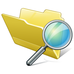 Folder Search Icon.