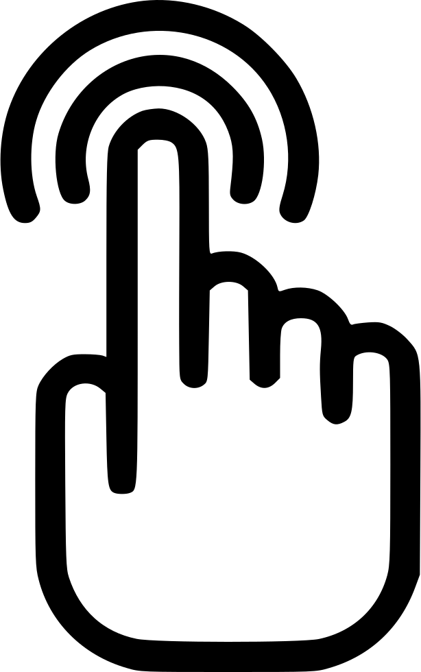 Touch Touching Touch Screen Touchpad Browse Click Svg Png Icon Free.