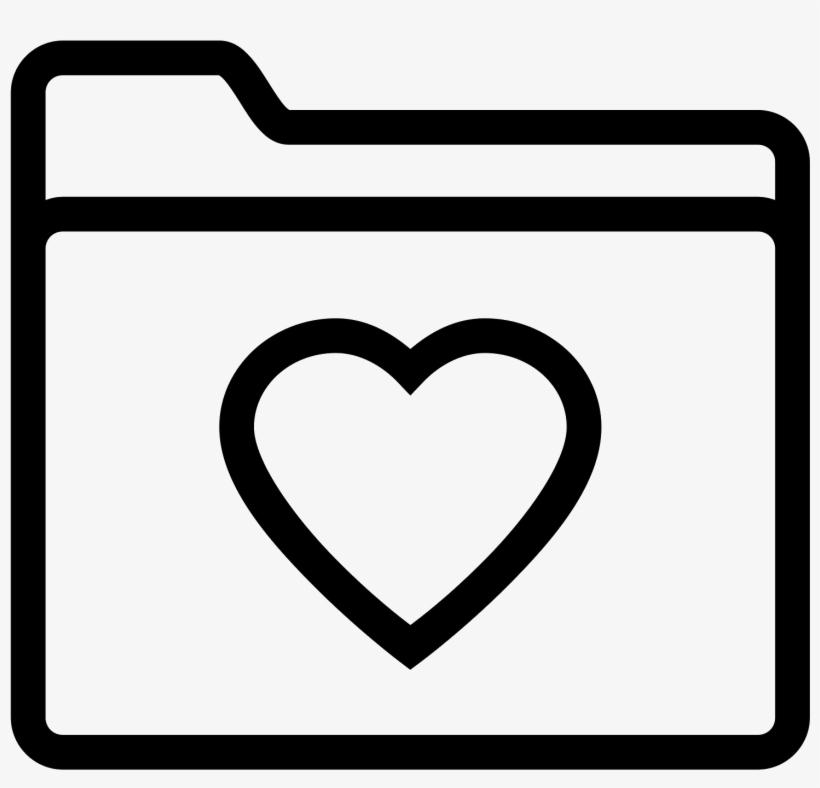 Folder Ulubione Icon.