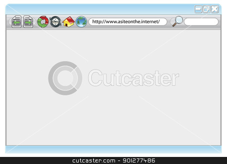 Clip Art Internet Web Browser.
