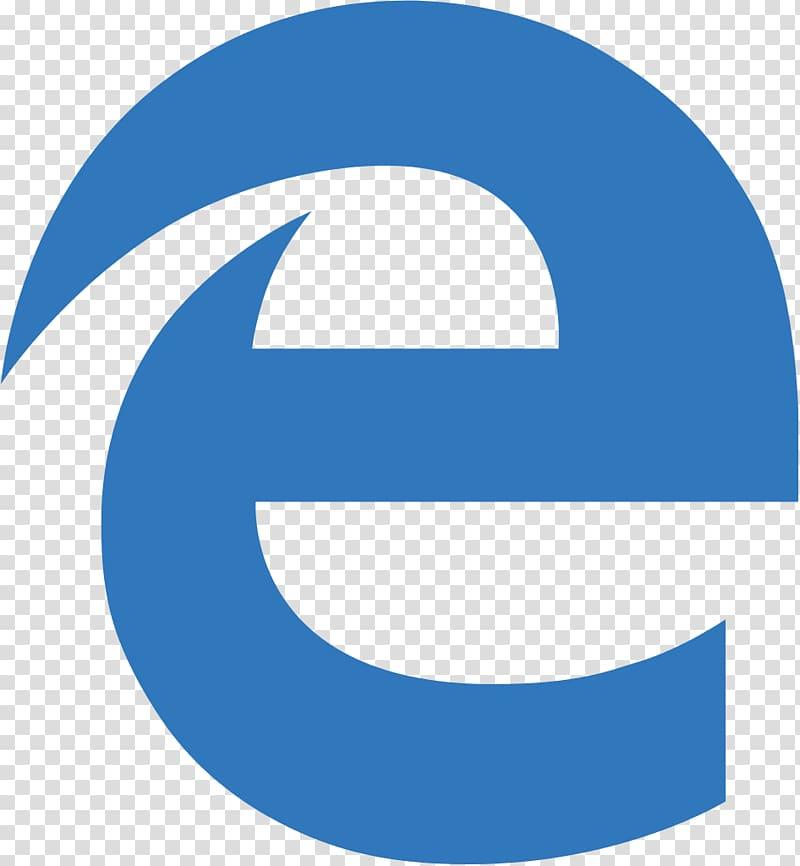 E text, Microsoft Edge Web browser Logo, Microsoft Edge Logo.