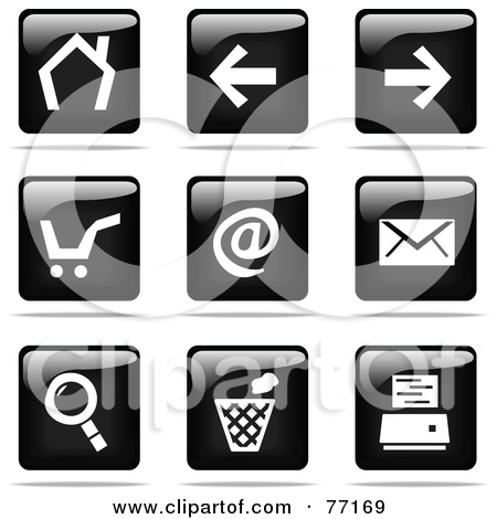 Royalty Free Stock Illustrations of Icons by Jiri Moucka Page 1.