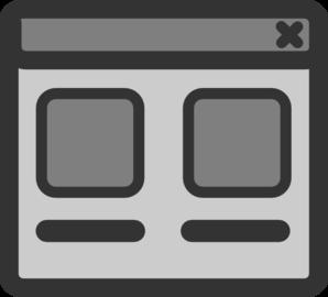Web Browser Window Clip Art at Clker.com.
