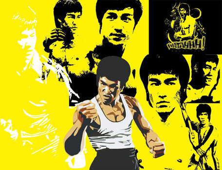 Bruce Lee Clip Art, Vector Bruce Lee.