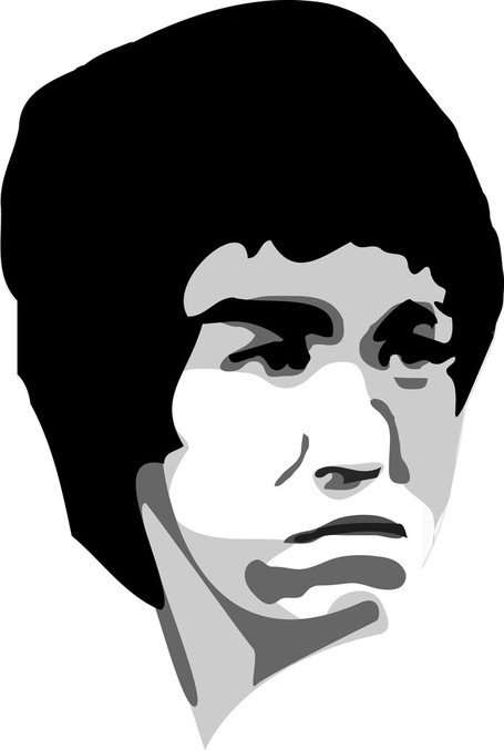 Free Bruce Lee Clipart and Vector Graphics.