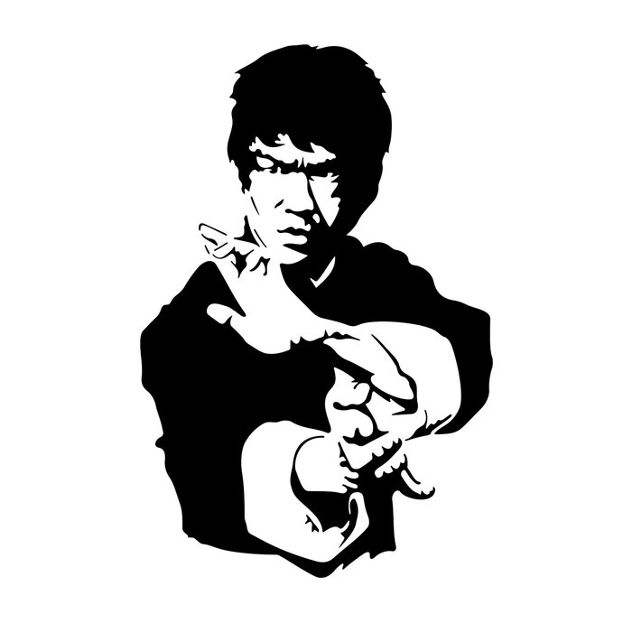 39+ Bruce Lee Clipart.