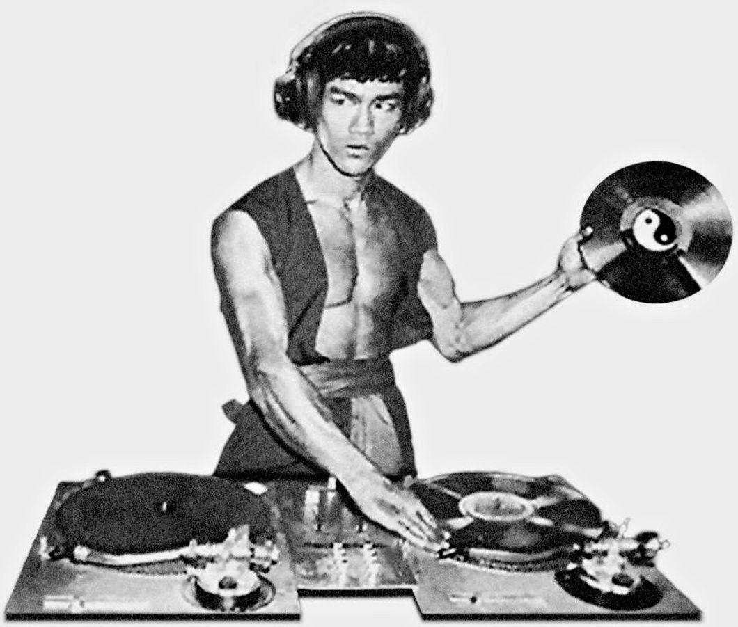 Bruce Lee DJ.