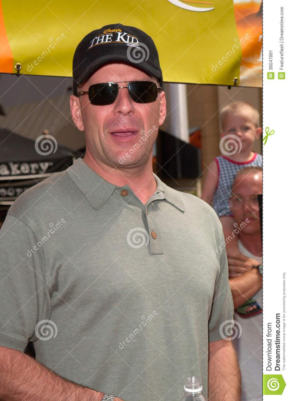 Bruce Willis Editorial Photo.