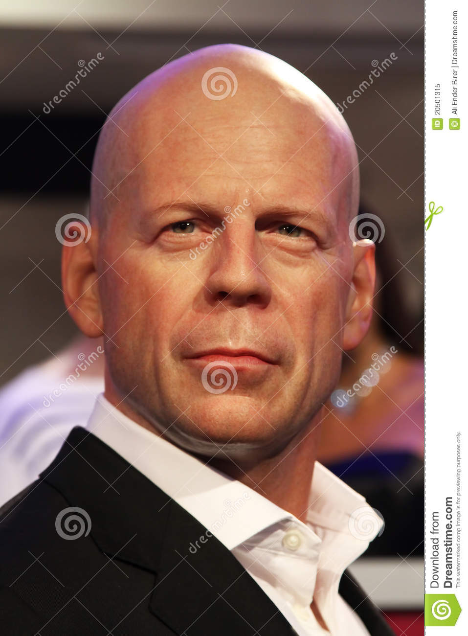 Bruce Willis Editorial Image.