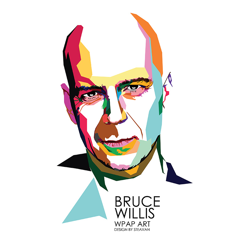 bruce willis wpap art.