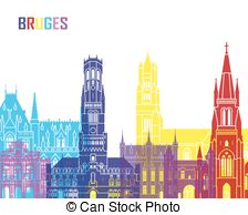 Bruges Illustrations and Clip Art. 111 Bruges royalty free.