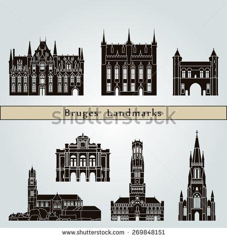 Bruges Belgium Stock Vectors, Images & Vector Art.