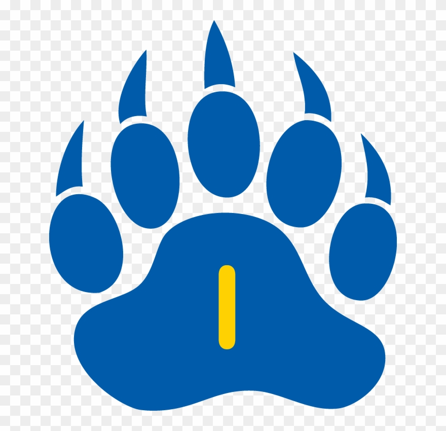 Paw Clipart Bruin.