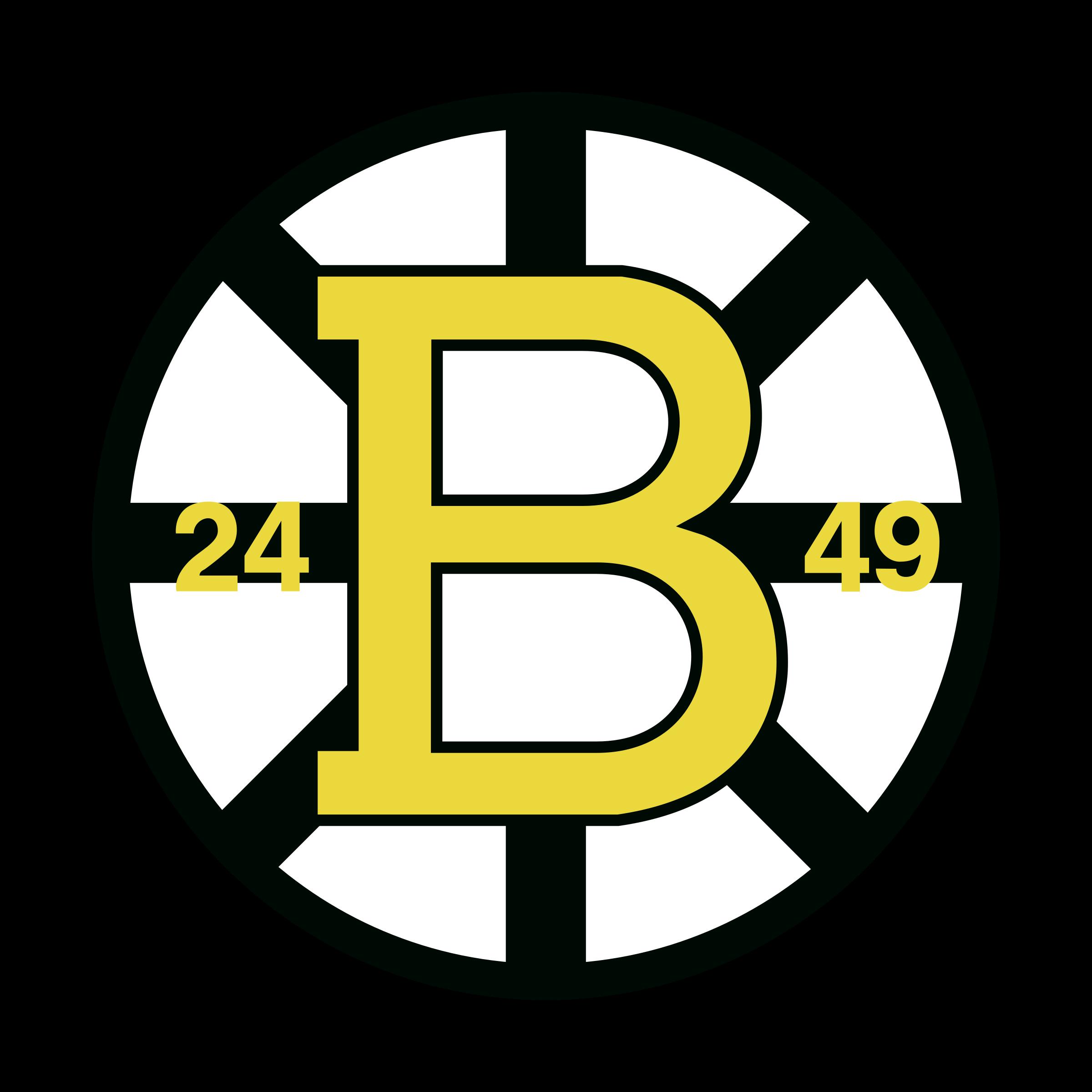 Boston Bruins Logo PNG Transparent & SVG Vector.