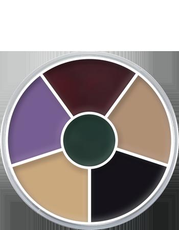 Cream Color Circle.