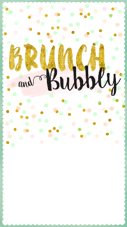 Free Brunch & Lunch Party Invitations.