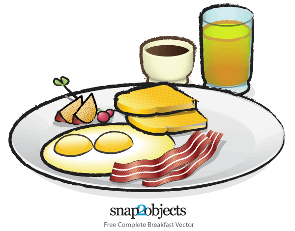 Breakfast Brunch Clip Art.