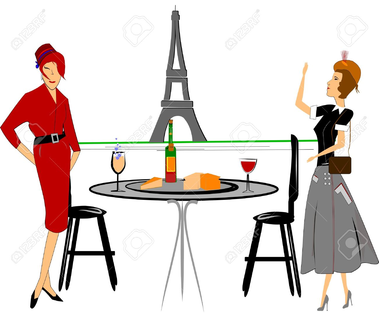 324 Brunch Table Stock Vector Illustration And Royalty Free Brunch.