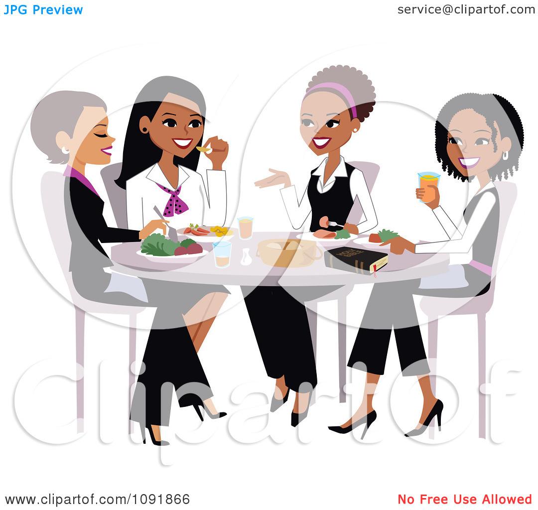 Church Womens Brunch Clipart.