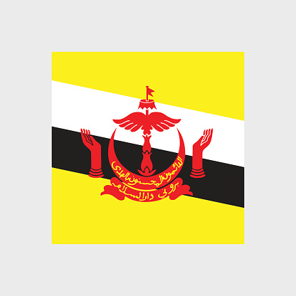 State Of Brunei Clip Art, Vector Images & Illustrations.