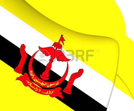 1,484 Flag Of Brunei Stock Vector Illustration And Royalty Free.