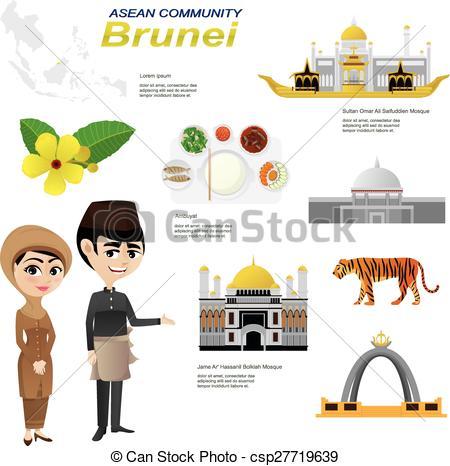 Brunei clipart.