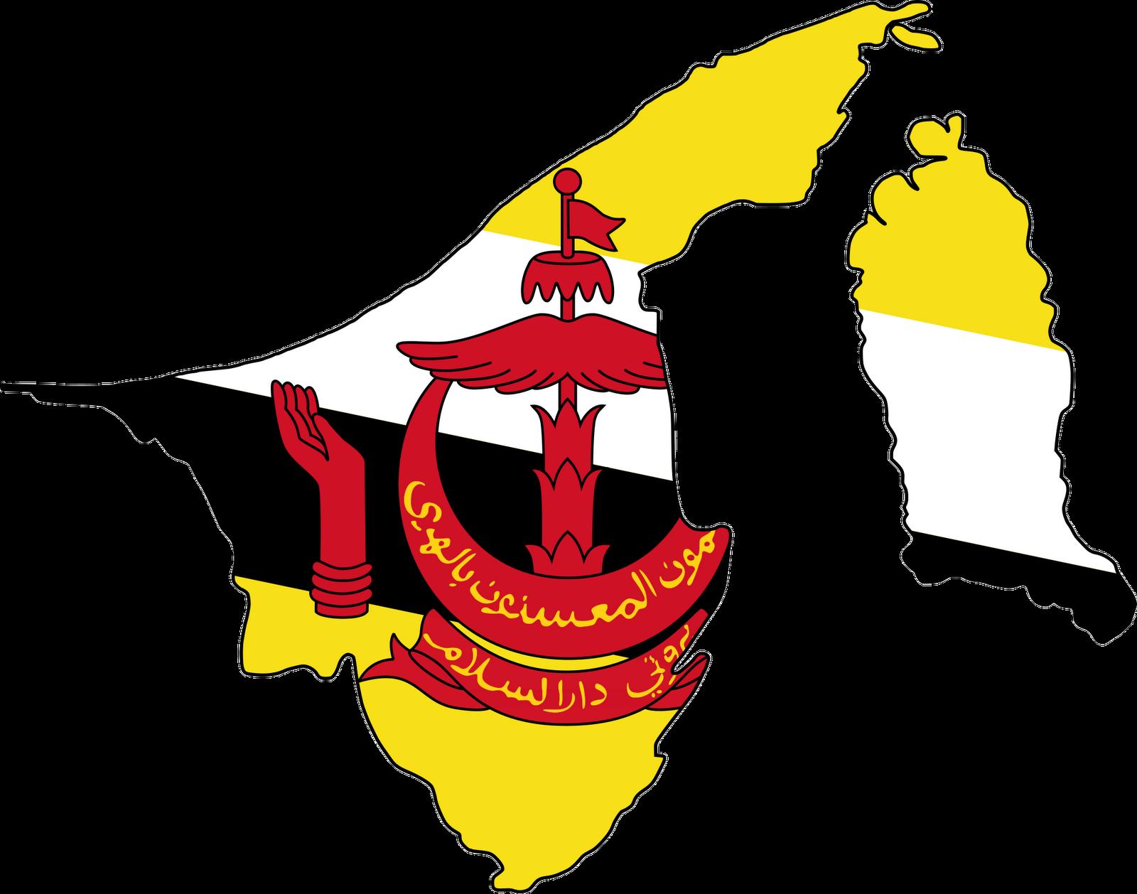 Brunei Flag 070411» Vector Clip Art.
