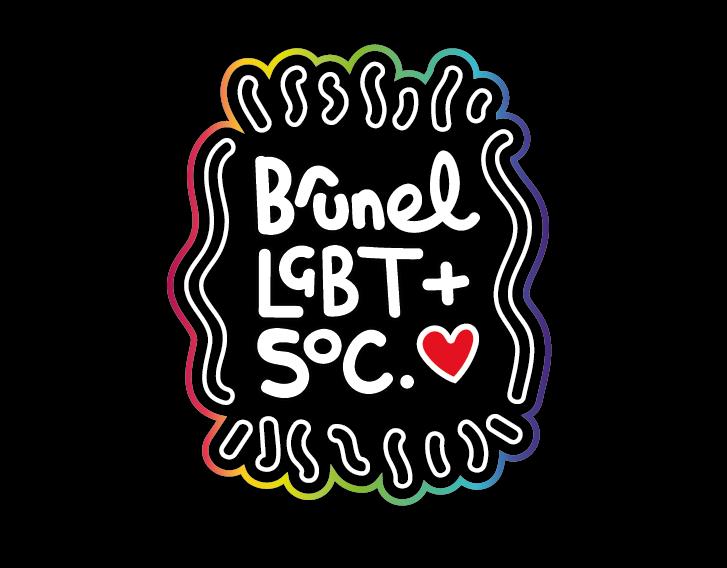 Brunel LGBT+ Soc Logo on Behance.