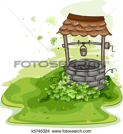 Stock Illustration of Shamrock Frame k5794407.