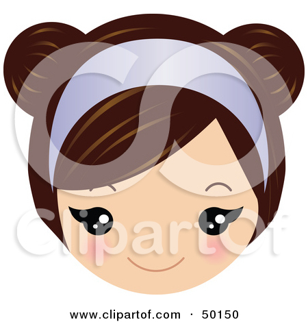 Royalty Free Face Illustrations by Melisende Vector Page 5.