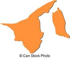 Map brunei Vector Clipart Royalty Free. 162 Map brunei clip art.
