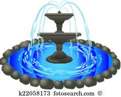 Brunnen Clip Art und Illustrationen. 3.853 brunnen Clipart Vector.