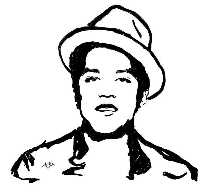 Bruno mars clipart 2 » Clipart Portal.